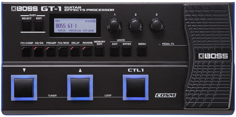 Boss GT-1 Guitar Multi Effect Processor [NEW]