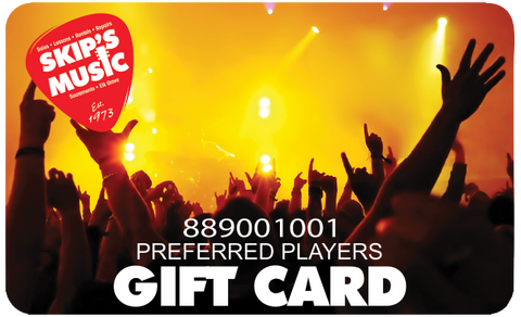 Skip's Music Gift Card (In Store Only)