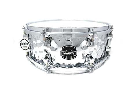 Mapex MPX Hammered Steel 14×5,5″ Snare MPST 4558H