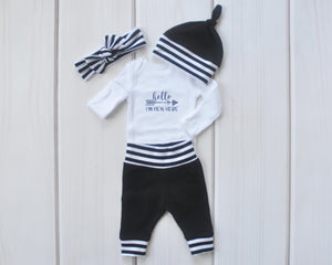 Baby Outfit / Coming Home Set - I'm New Here