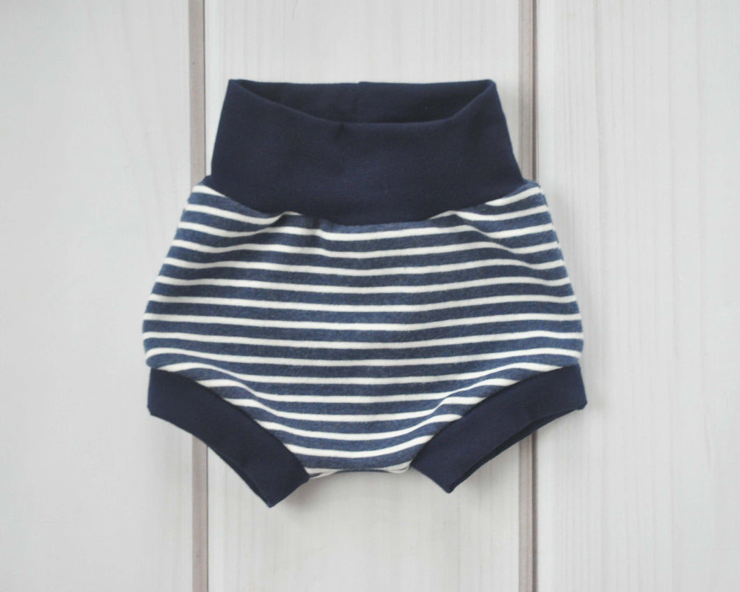 Bummies - Navy Blue Stripe