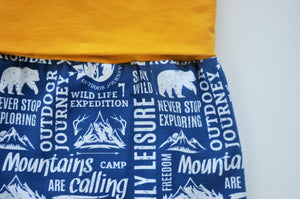 Grow With Me Leggings - Mountains are Calling