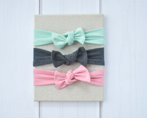 Top Knot Headband Set