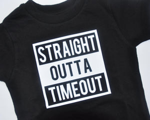 Graphic T - Straight Outta Timeout
