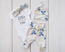 Baby Outfit - Coming Home Set - Wild Posy Floral