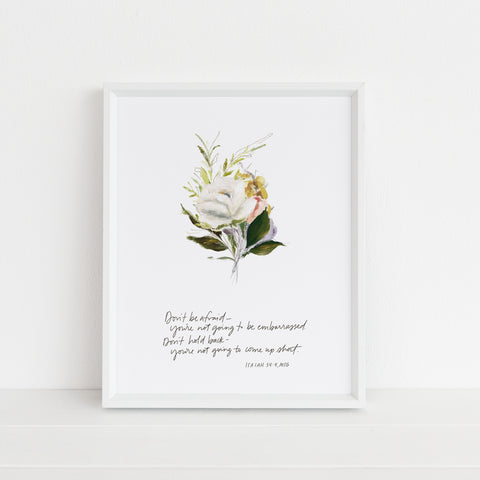 *NEW* Don't Hold Back | Art Print