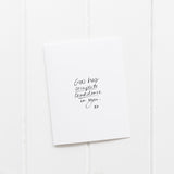 God has Complete Confidence in You | Greeting Card