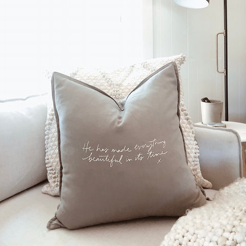 Everything Beautiful | Throw Pillow Cover