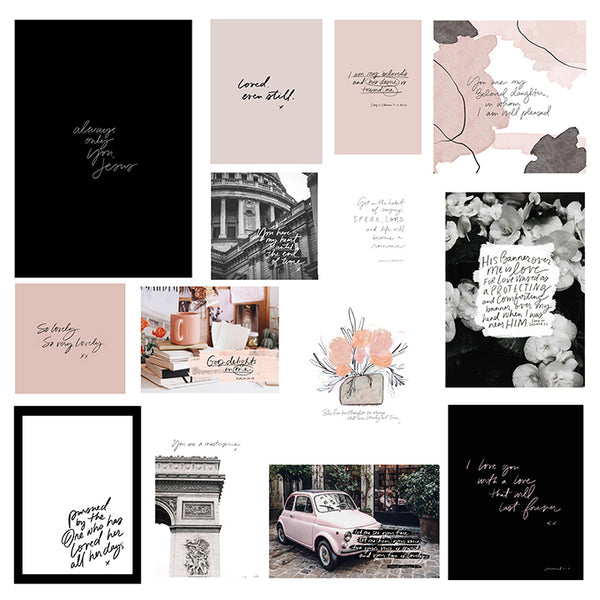 Mini Print Collection 28 | LOVELY