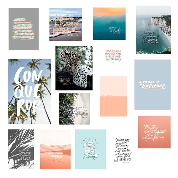 OVERCOMER | Mini Print Collection 33