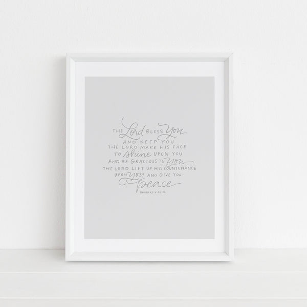 The Lord Bless You and Keep You | Art Print