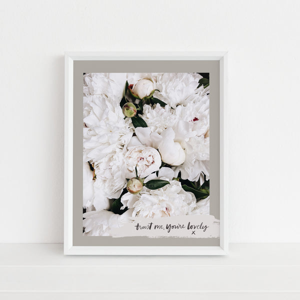 Trust Me, You're Lovely | Art Print