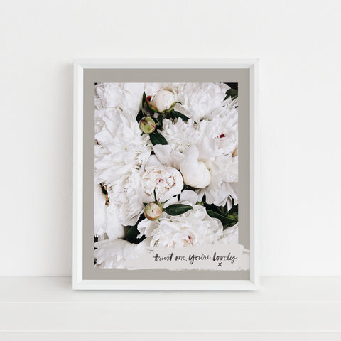 *LAST CHANCE* Trust Me, You're Lovely | Art Print
