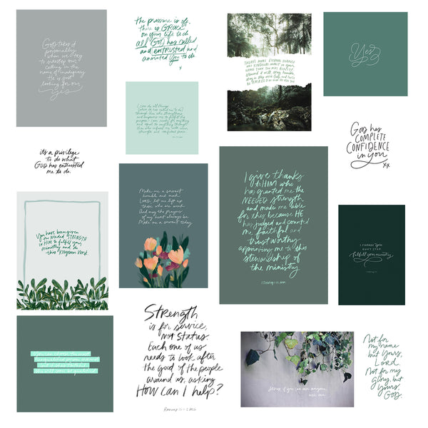 ENTRUSTED | Mini Print Collection 41