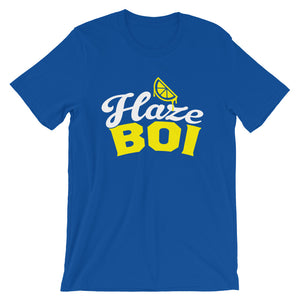 Haze Boi: Blue/Yellow/White