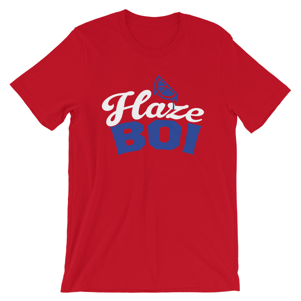 Haze Boi: Red/Blue/White