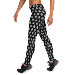 Black Whale Hop Leggings