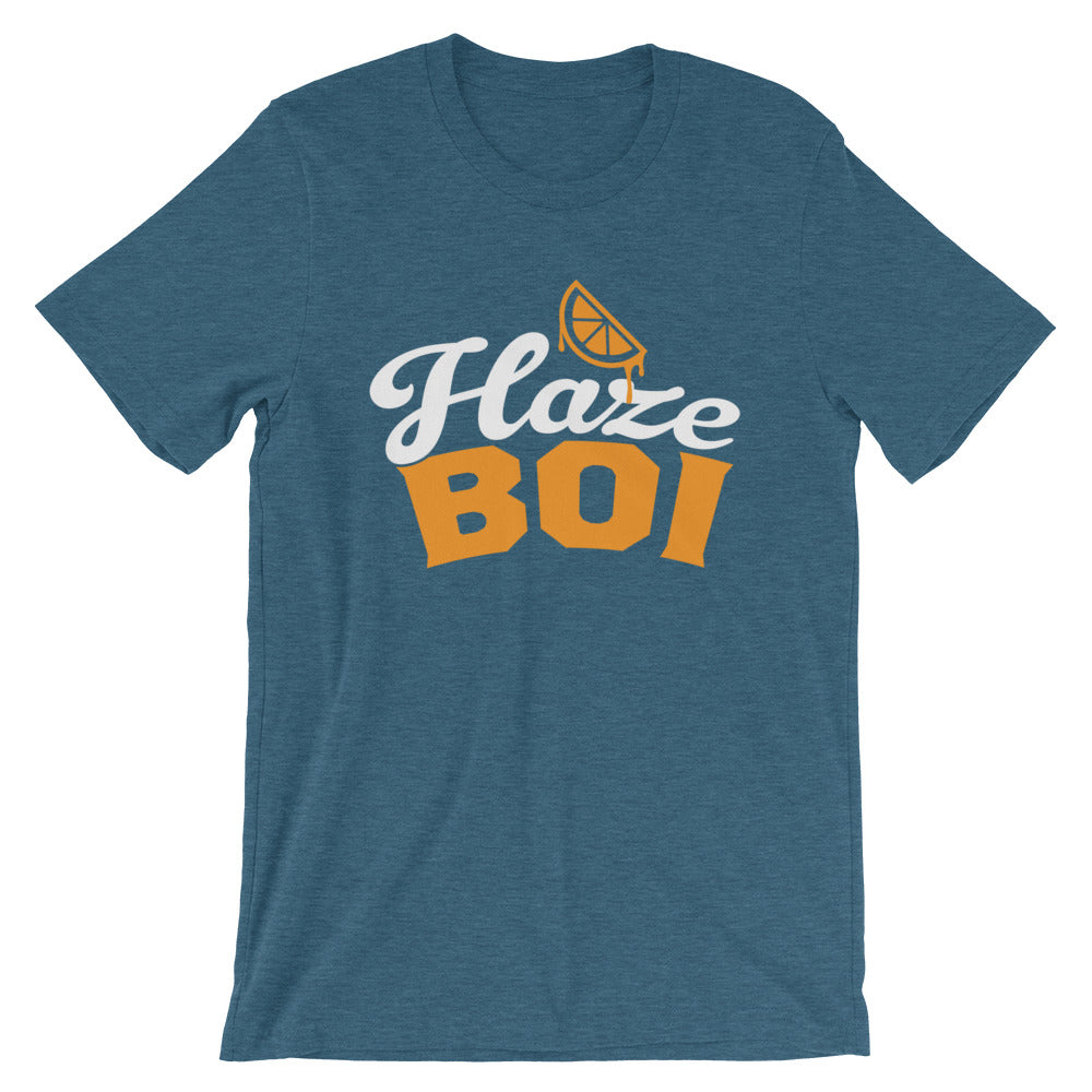 Haze Boi: Teal/Orange/White