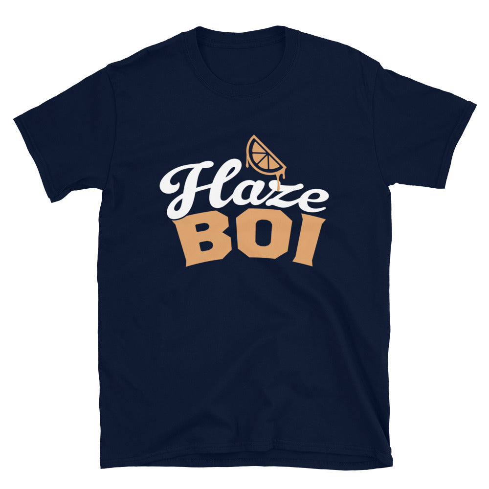Haze Boi: Navy/Gold/White