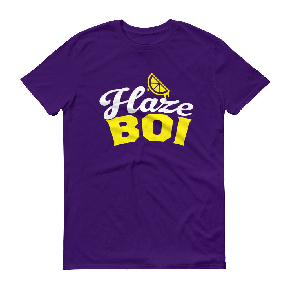 Haze Boi: Purple/Yellow/White