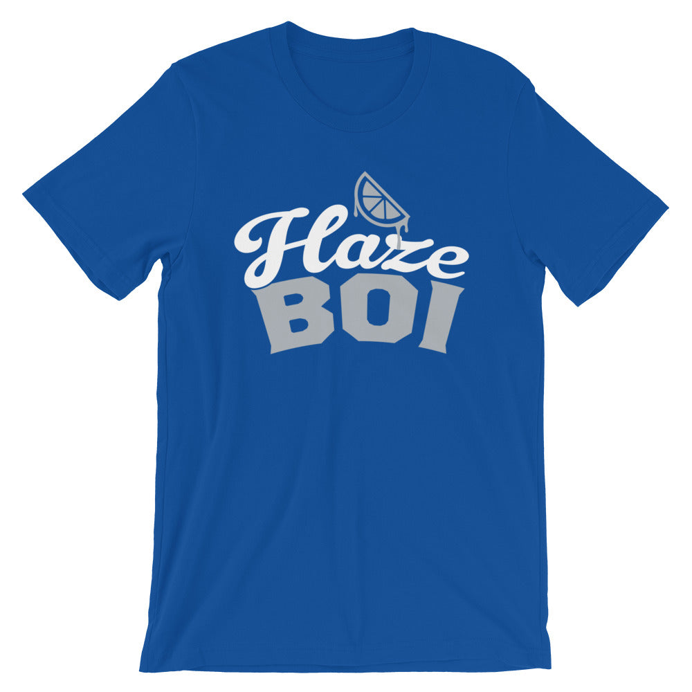 Haze Boi: Blue/Silver/White