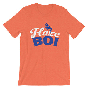 Haze Boi: Orange/Blue/White