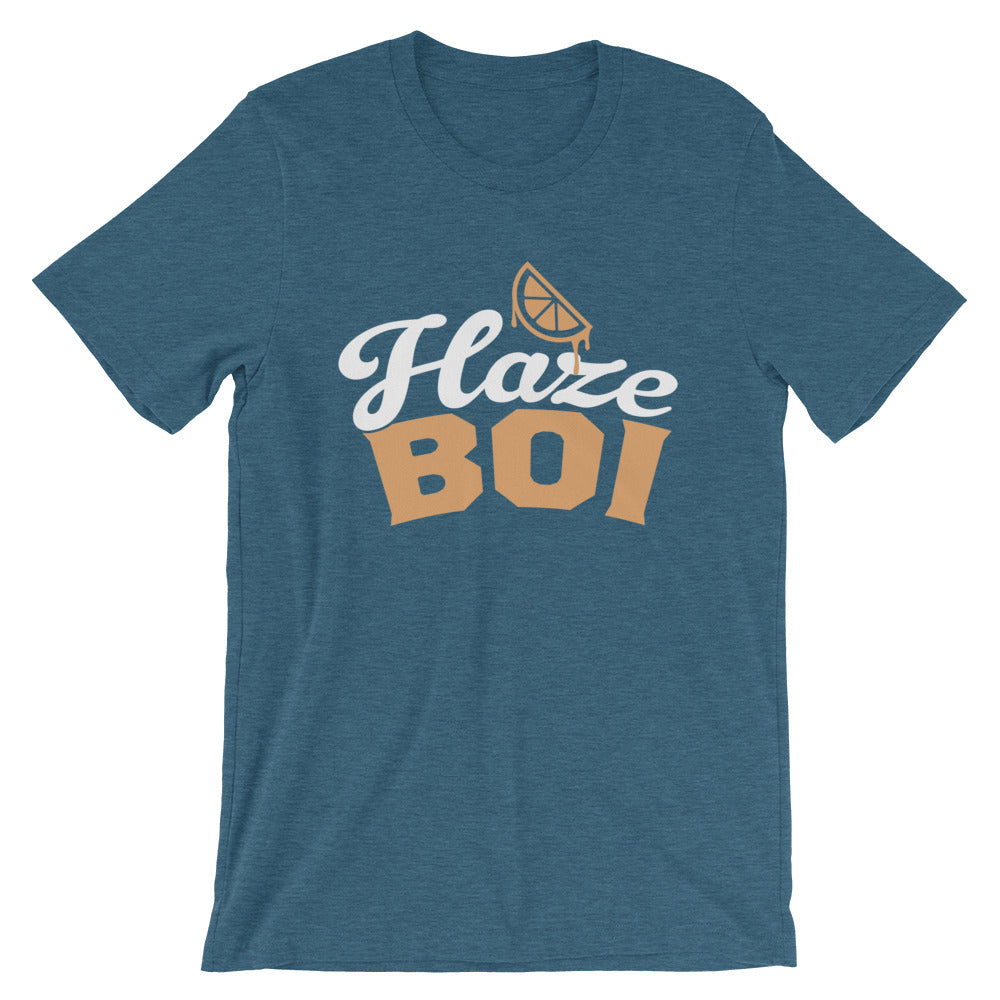 Haze Boi: Teal/Gold/White