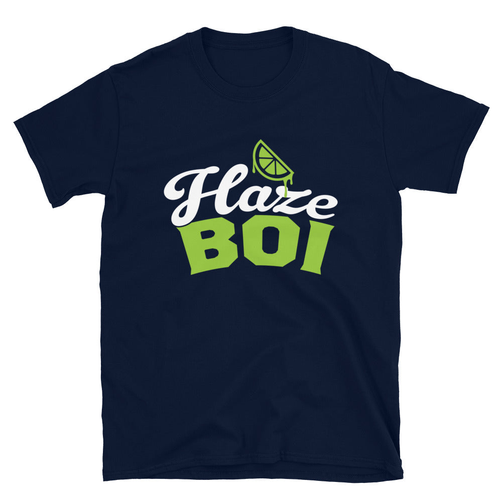 Haze Boi: Navy/Lime/White