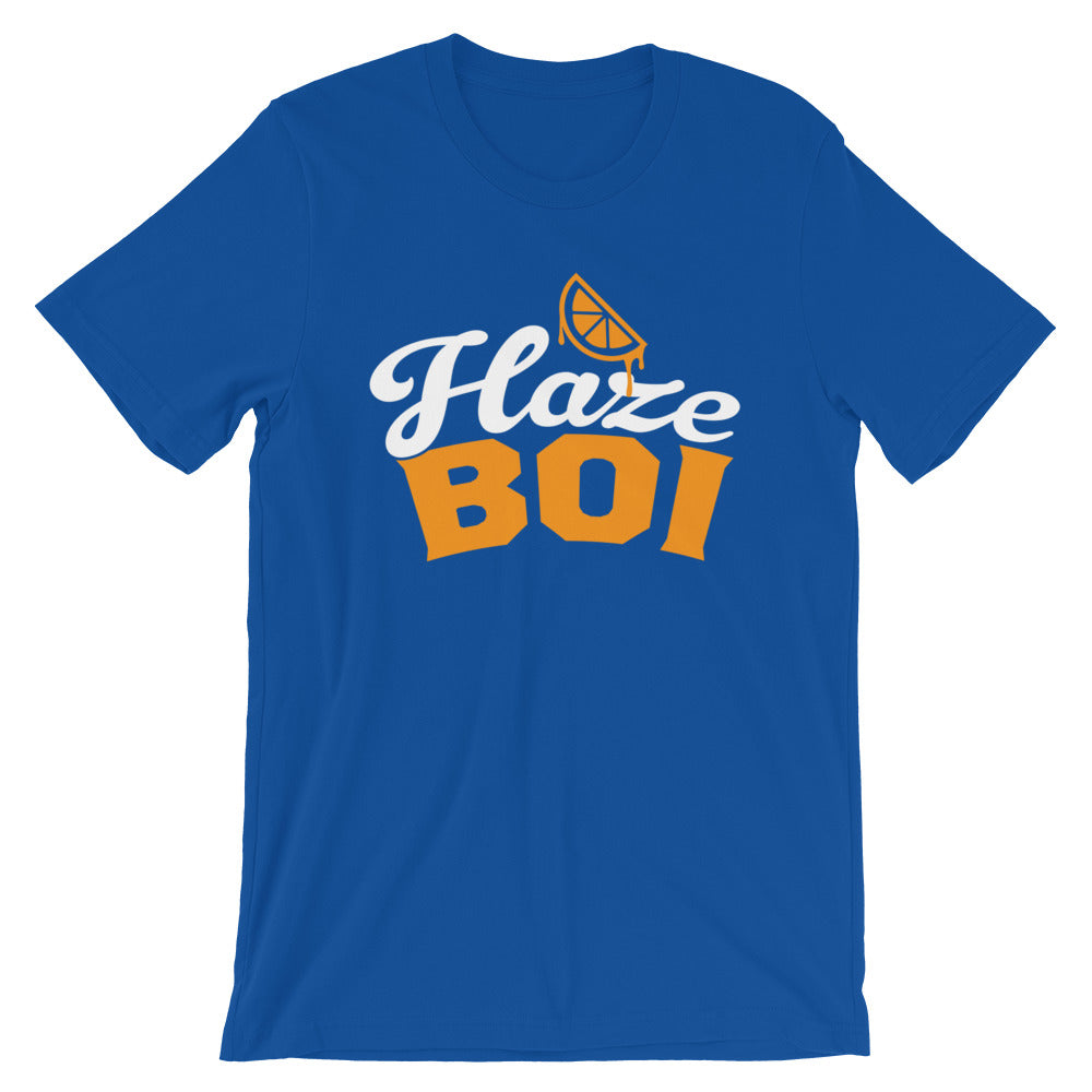 Haze Boi: Blue/Orange/White