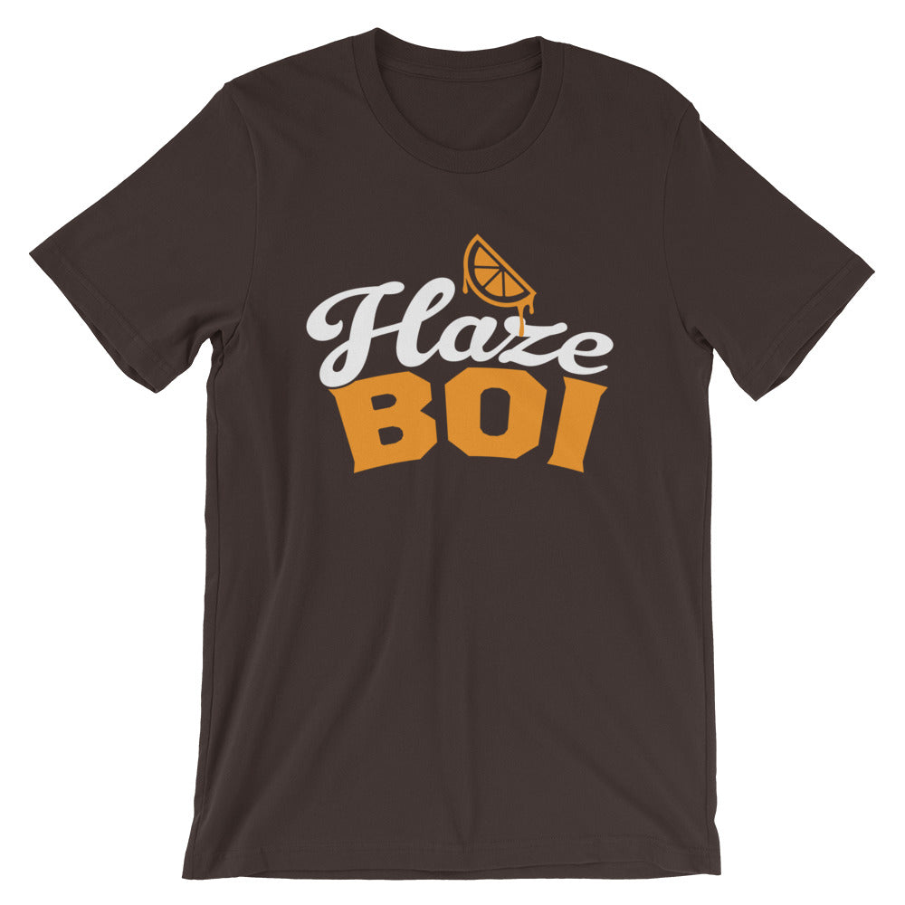 Haze Boi: Brown/Orange/White