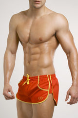 2eros Icon Beach Shorts - Red