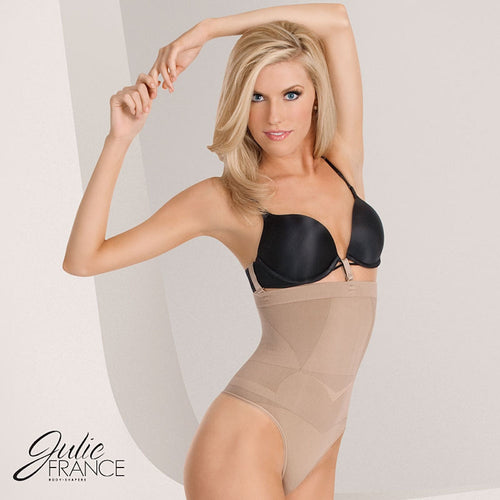 Julie France High Waist Thong Shaper JF006