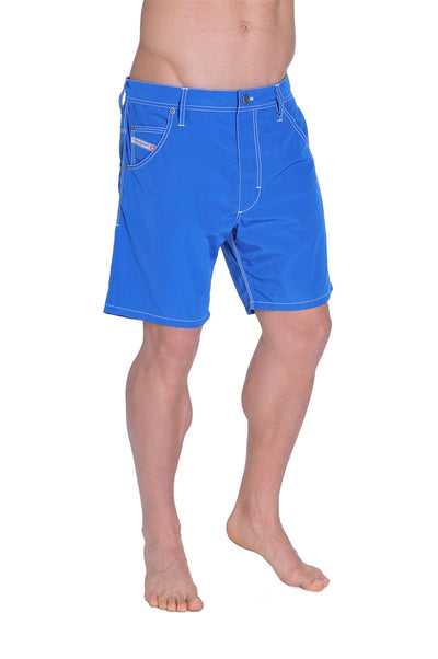 Diesel Men's Kroobeach Hybrid Swim Short - Blue Web