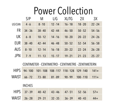 Power by EuroSkins Extra Firm Compression Power Tummy Shaper JP10 - Taupe