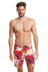 Mr. Turk Safari Board Shorts - Multicolored - M166104