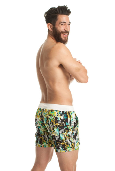 Mr. Turk Malibu Board Short - Green