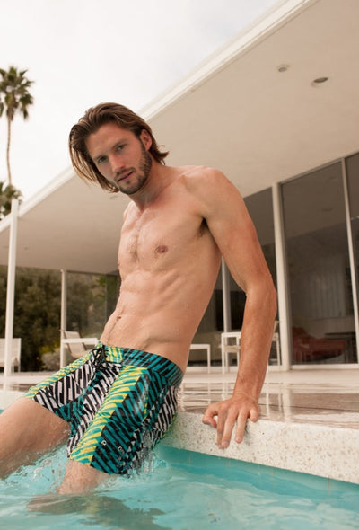 Mr. Turk Vallarta Swim Trunk - Multi