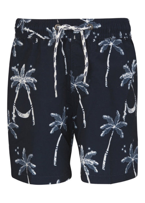 Snapper Rock Boys Midnight Palm Classic Boardshorts