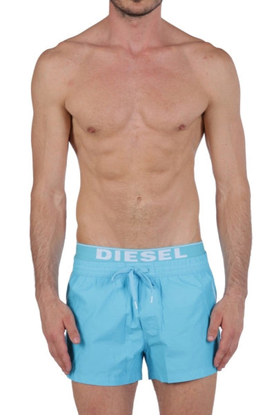 Diesel Men's Seaside-E Swim Short 00SP800KAKY - Light/Blue