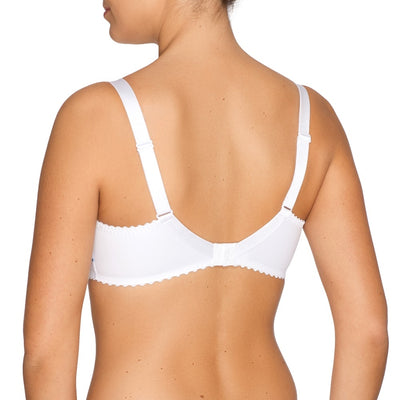 Prima Donna First Lady Full Cup Bra - White Fantasy