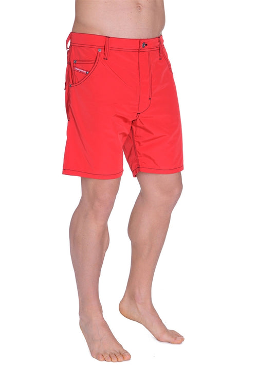 Diesel Men's Kroobeach Hybrid Swim Short - Very Red