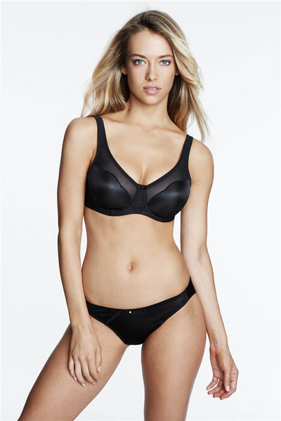 Dominique The Wave Bra - Black