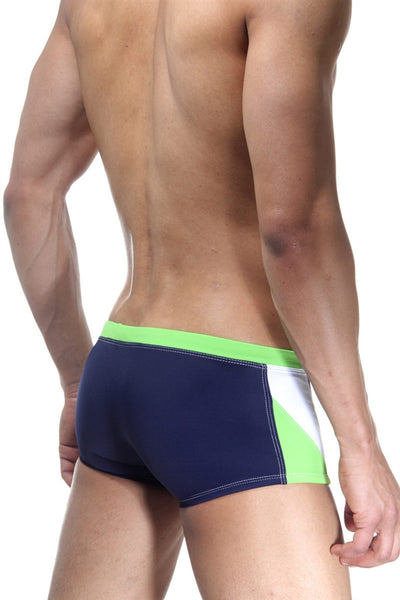 BWET Rushmore Swim Boxers 15325 - Navy Lime