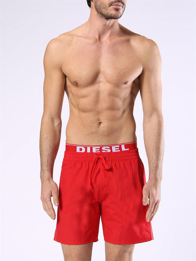 Diesel Dolphin-E Swim Shorts - Red