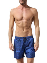 Diesel Men's Wave 2.017 Swim Short 00SV9U0KAKW - Blue
