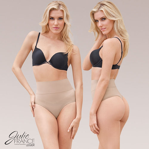 2247ed179 Julie France Leger Mid Waist Thong Shaper JFL24 – Chelsea Lane Swimwear