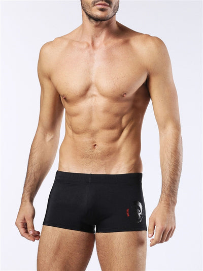 Diesel Hero Short Swim Trunk 00SMNR0BAMK - Black/Grey