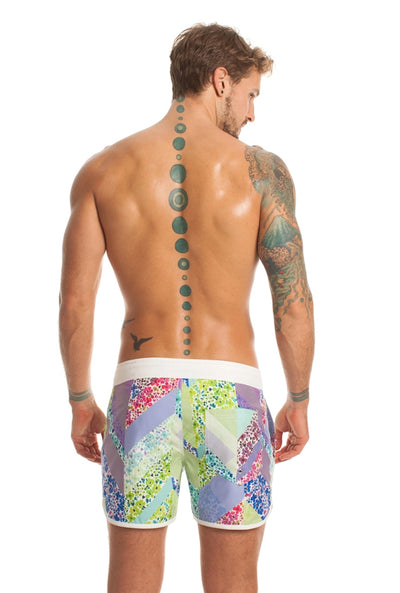 Mr. Turk Surfside Board Short  - Multi