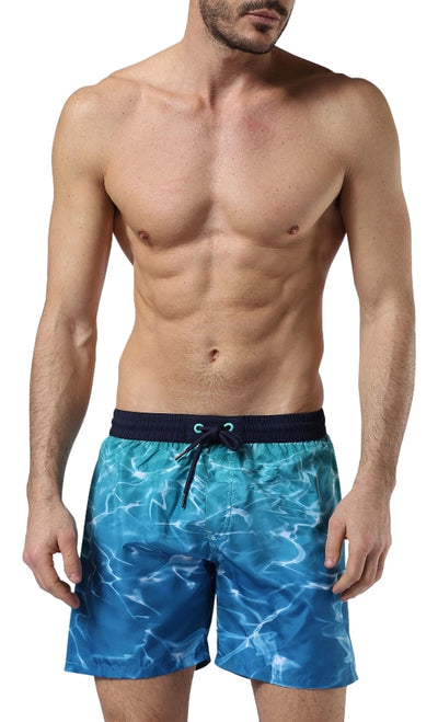 Diesel Men's Wave 2.017 Swim Shorts 00SV9U0IANS - Sea/Green
