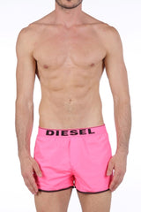 Diesel Sandy-Rev Swim Shorts 00SP840DALV - Black/Pink